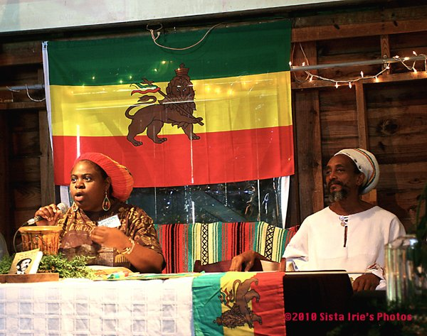 Queen Mother Moses and Ras Israel, Interfaith Reasonings Panel © Sista Irie