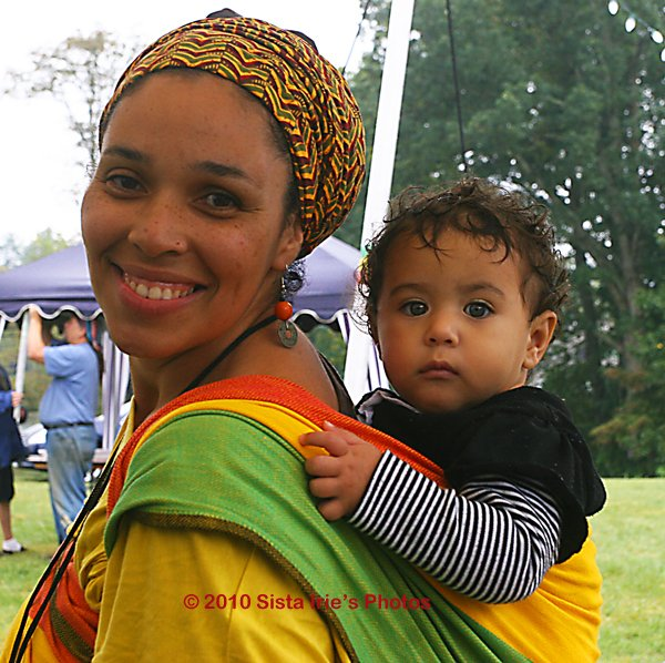 Mother and Baby © Sista Irie