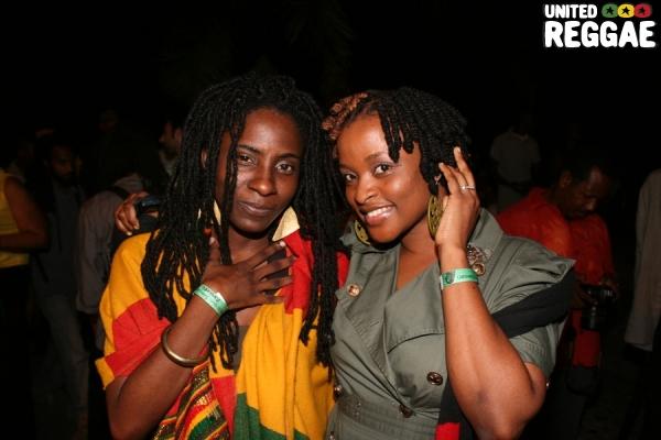 Jah9 and Passion, daughter of Sugar Minott © Steve James