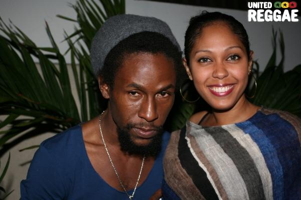 Jah Cure and fan © Steve James