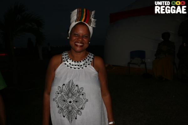 Bridgette Anderson, former manager of Garnett Silk © Steve James