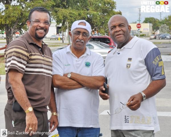 John T, Jamusa and Lloyd Campbell © Gail Zucker