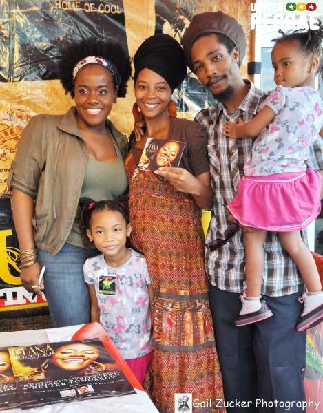 Etana and family © Gail Zucker