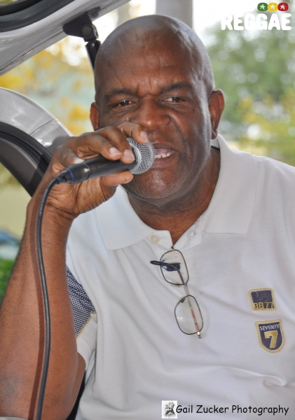 Lloyd Campbell (Jah Bungi) of VP Records and Joe Fraser Records © Gail Zucker