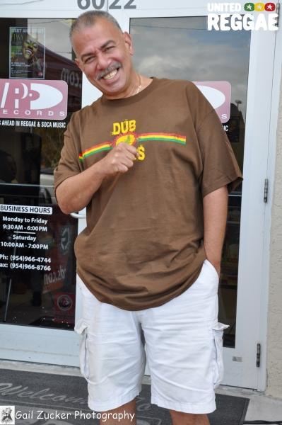 David of VP Records © Gail Zucker