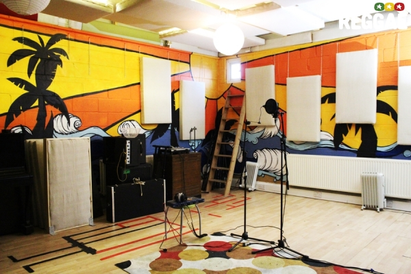 Prince Fatty studio © Emma-Louise