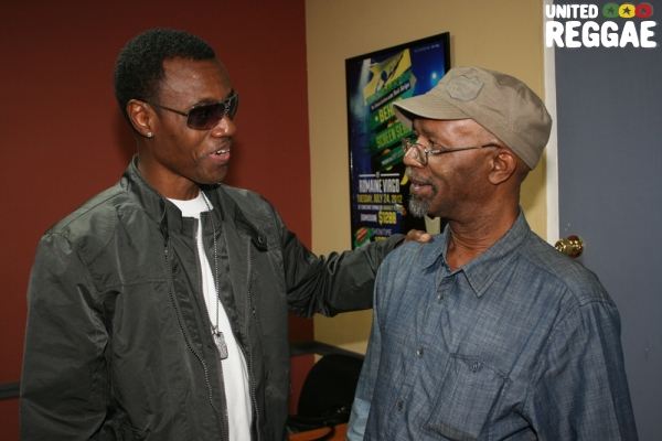 Wayne Wonder and Beres Hammond © Steve James