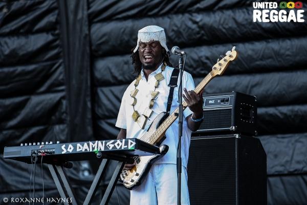 Santigold band © Roxanne Haynes