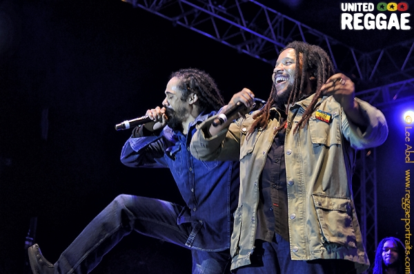 Stephen and Damian Marley © Lee Abel