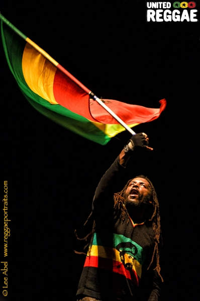 Marley's Flag Man © Lee Abel