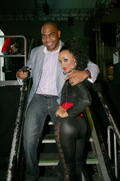 Host/MC's of the show, Jazzy T & Kiki © Steve James