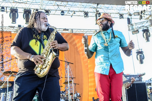 Dean Fraser & Tarrus Riley © Lee Abel