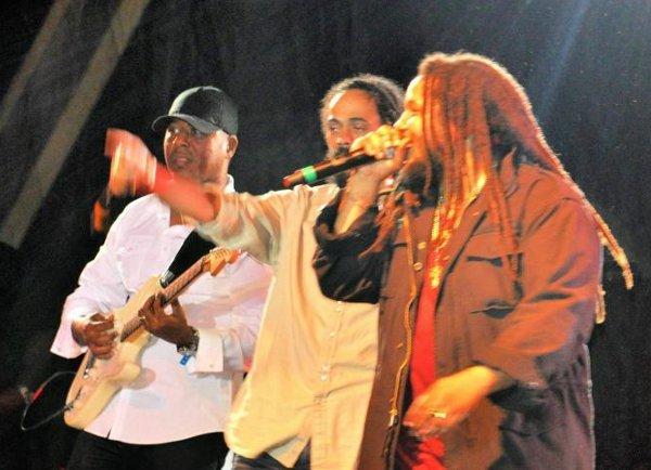 Stephen and Damian Marley © Gail Zucker