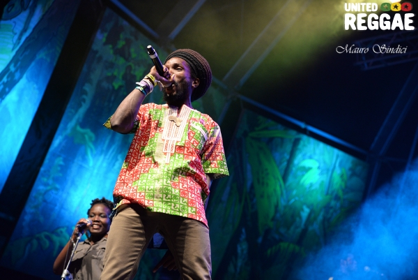 Kabaka Pyramid & The Bebble Rockers © Mauro Sindici