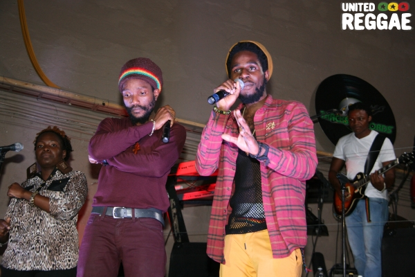 Kabaka Pyramid & Chronixx © Steve James