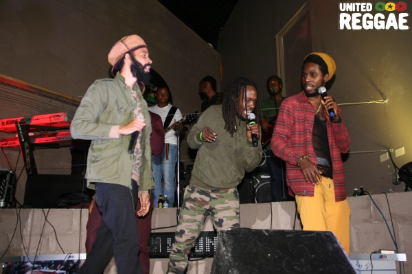 Protege, Jesse Royal & Chronixx © Steve James
