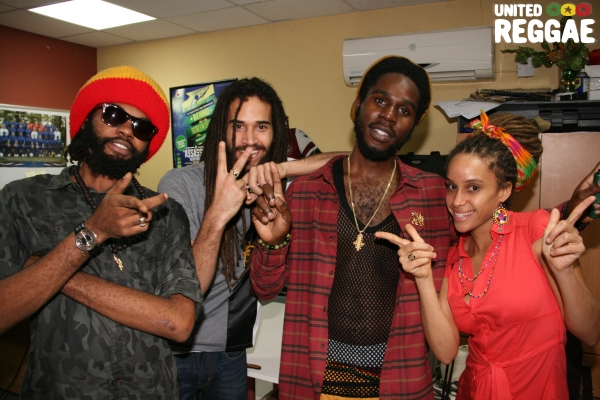 Chronixx & friends © Steve James