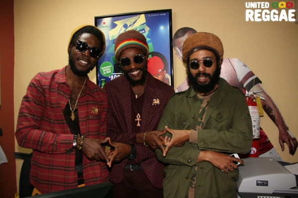 Chronixx, Kabaka Pyramid & Protege © Steve James