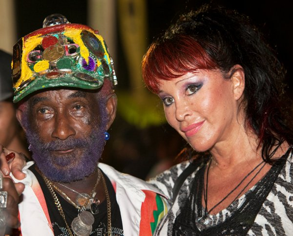 Lee Perry and wife © Sista Irie
