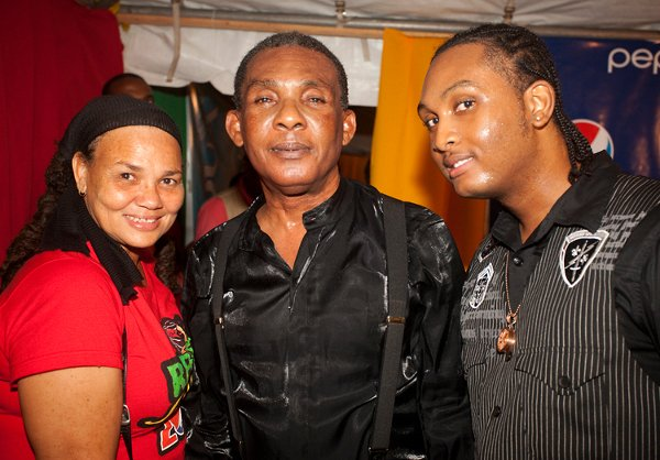 Ken Boothe and son © Sista Irie