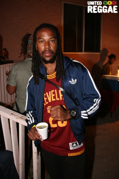 Jamaican international footballer, Ricardo Gardner © Steve James