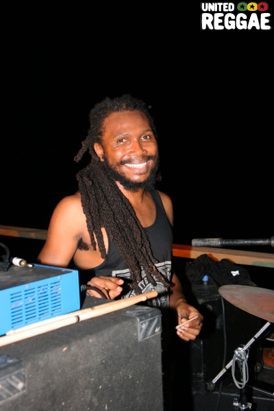 Notis Records producer/drummer, Unga © Steve James