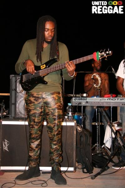 Bass player © Steve James