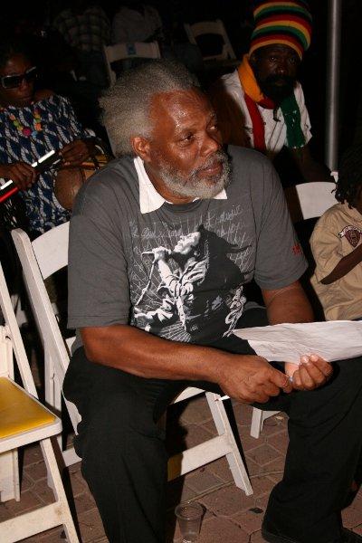 Ibo Cooper (Former member of Third World and music teacher) © Steve James