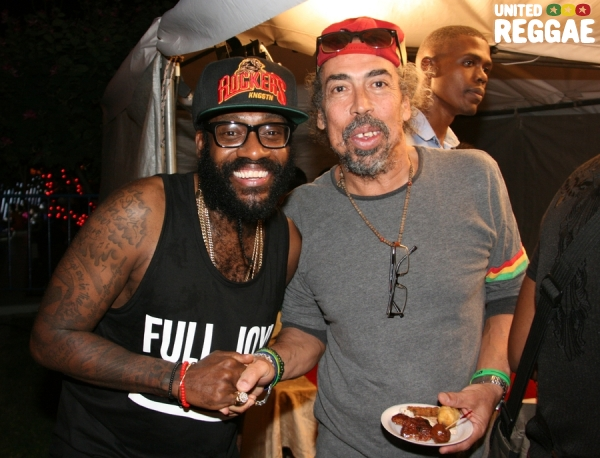 Tarrus Riley and Cat Coore © Steve James