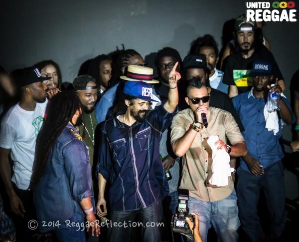 Damian Marley, Sean Paul and friends © Empress K / Reggae Reflection