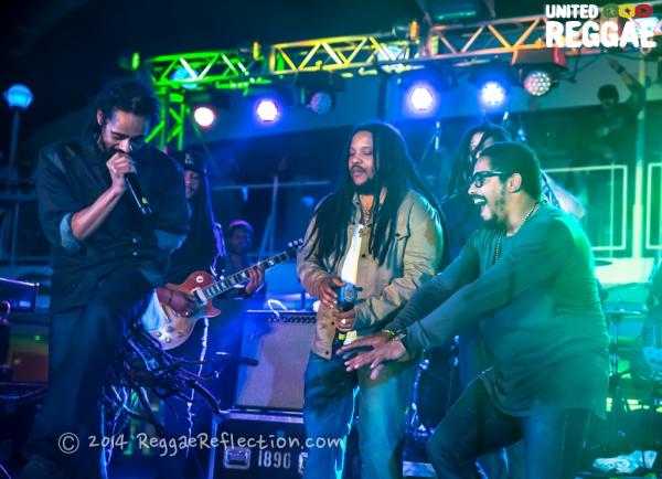 Damian and Stephen Marley © Empress K / Reggae Reflection