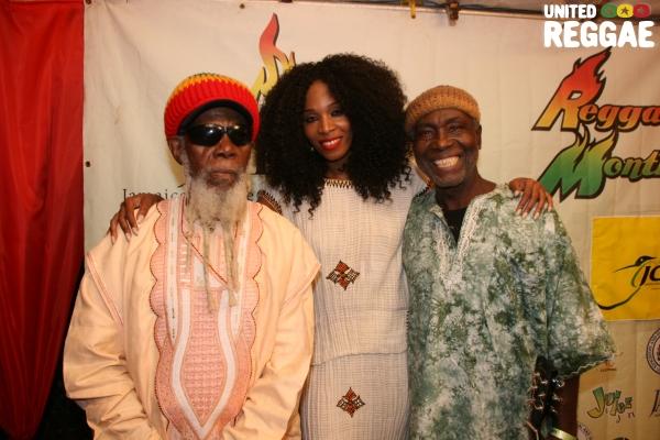 Ras Michael, Kamsha & Ras Michael Jr. © Steve James