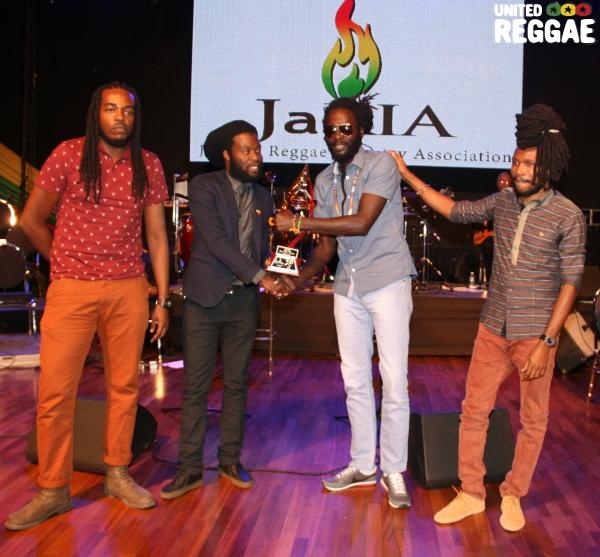 Jason Welsh, Iba MaHr, Jah Bouks & Unga Barunga © Steve James