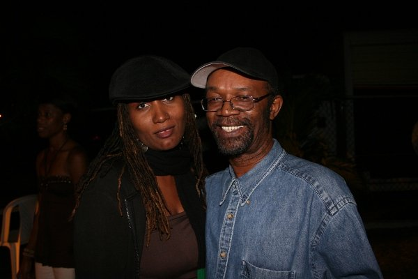 Althea Hewitt and Beres Hammond © Steve James