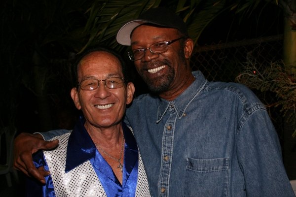 Keith Lyn and Beres Hammond © Steve James