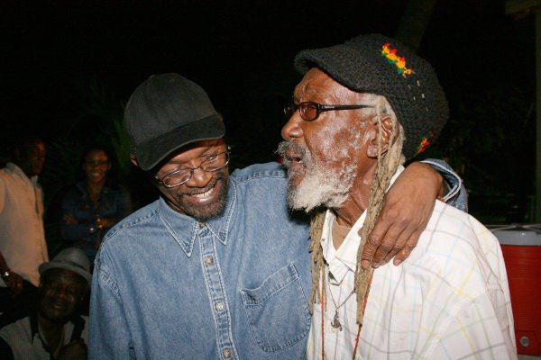 Beres Hammond and Scully © Steve James