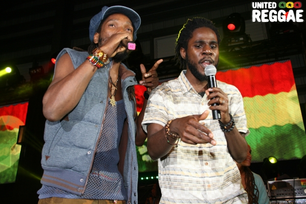 Chronixx and Kabaka Pyramid © Steve James