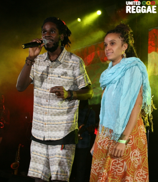 Chronixx and Kelissa © Steve James