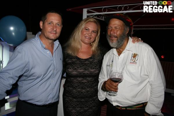 Ras Astor Black (right) and friends © Steve James