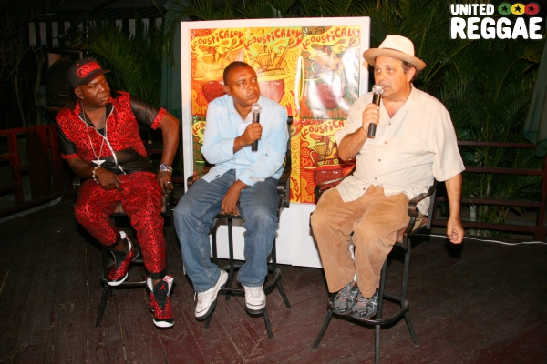 Barrington Levy, Howard Campbell and Dr. Dread © Steve James