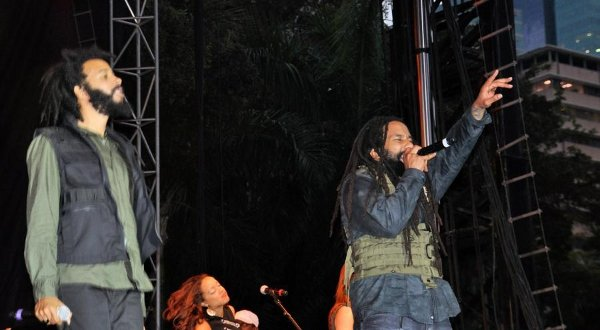Protoje and Ky-mani Marley © Gail Zucker
