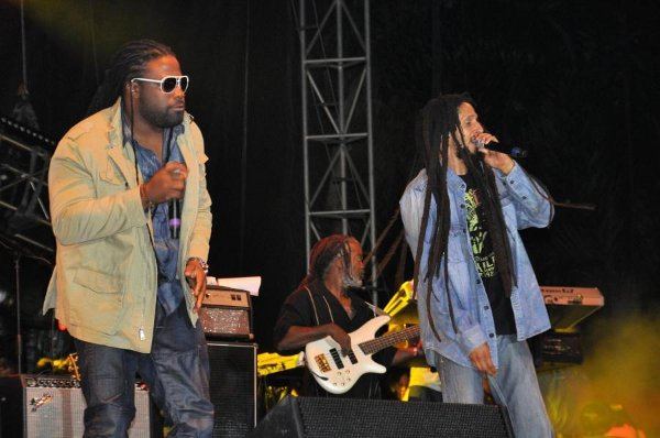 Gramps Morgan and Julian Marley © Gail Zucker