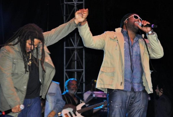 Stephen Marley and Gramps Morgan © Gail Zucker