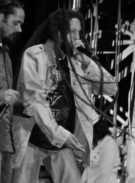 Julian and Damian Marley © Gail Zucker