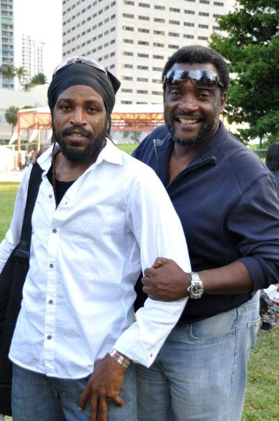 Junior Jazz and Abdul formerly of 99 Jamz © Gail Zucker