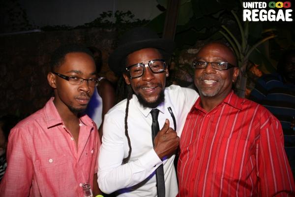 Jah Cure and friends © Steve James