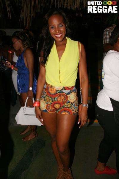 Former Ms. Jamaica Universe, Sara Lawrence © Steve James