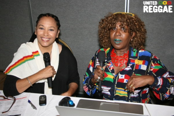 CEO of IRD, Andrea Davis and NYC Journalist, Vinette Pryce © Steve James