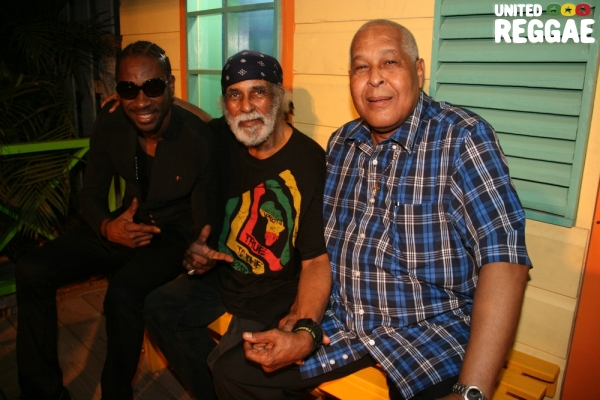 "Bounty Killer, Winston ""Merritone ""Blake & King Jammy © Steve James"