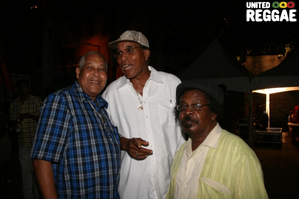 Kings Jammy, Jack Scorpio and Tony Tuff © Steve James